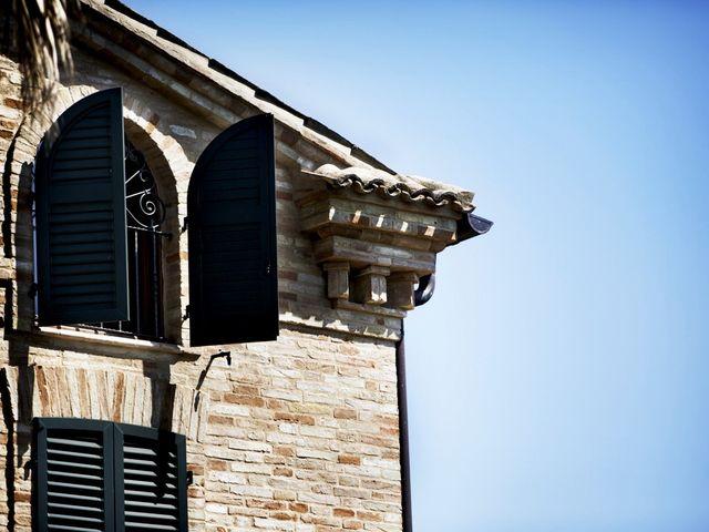 Il matrimonio di Francesco e Anna a Montecassiano, Macerata 16