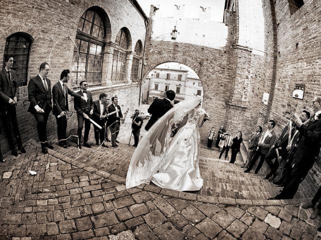 Il matrimonio di Francesco e Anna a Montecassiano, Macerata 58
