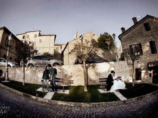 Il matrimonio di Francesco e Anna a Montecassiano, Macerata 81