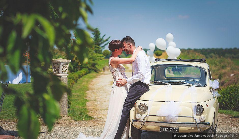 Il matrimonio di Pietro e Silvia a Cilavegna, Pavia