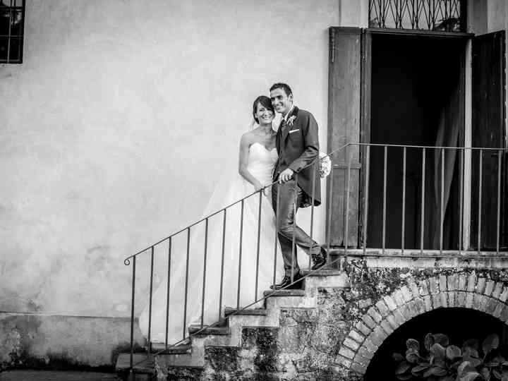 le nozze di Maria Grazia e Stefano