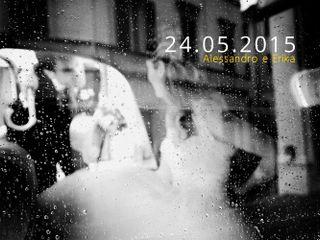 Le nozze di Erika e Alessandro 1
