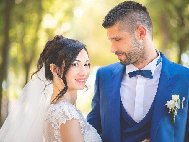 le nozze di Vanessa e Nicola