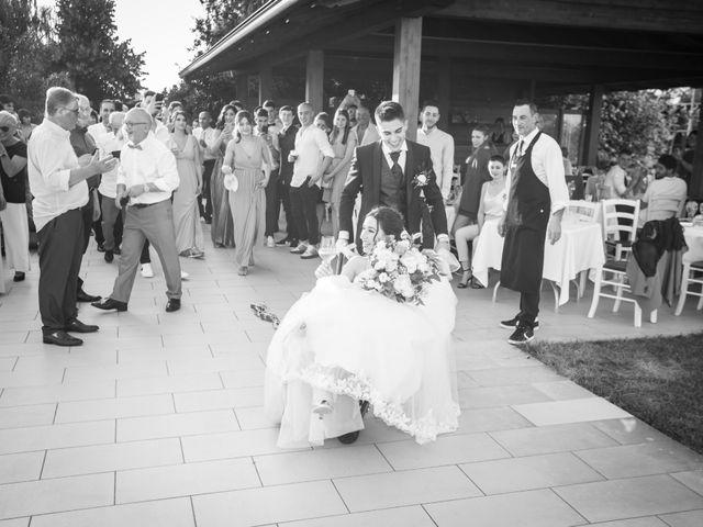 Il matrimonio di Nicholas e Chiara a Vignola, Modena 76