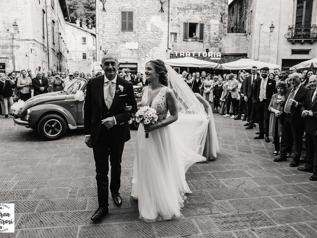 Il matrimonio di Alessandro e Giulia a Gubbio, Perugia 6