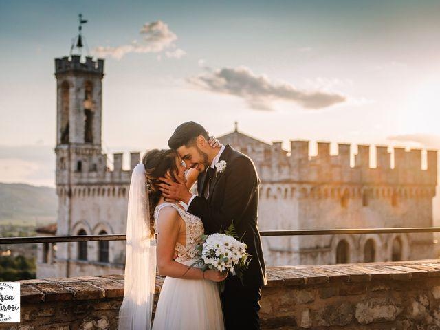 Il matrimonio di Alessandro e Giulia a Gubbio, Perugia 12