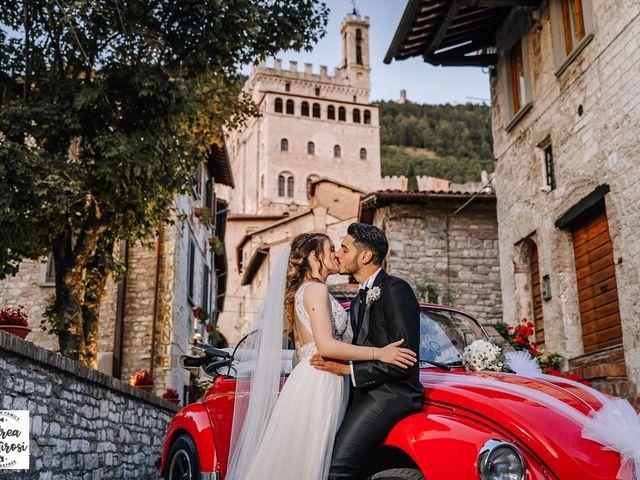 Il matrimonio di Alessandro e Giulia a Gubbio, Perugia 14