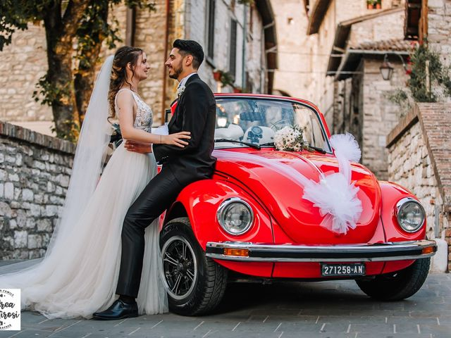 Il matrimonio di Alessandro e Giulia a Gubbio, Perugia 15