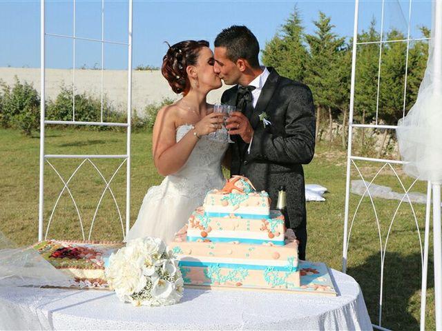 Il matrimonio di Claudio e Ornella a Muros, Sassari 11