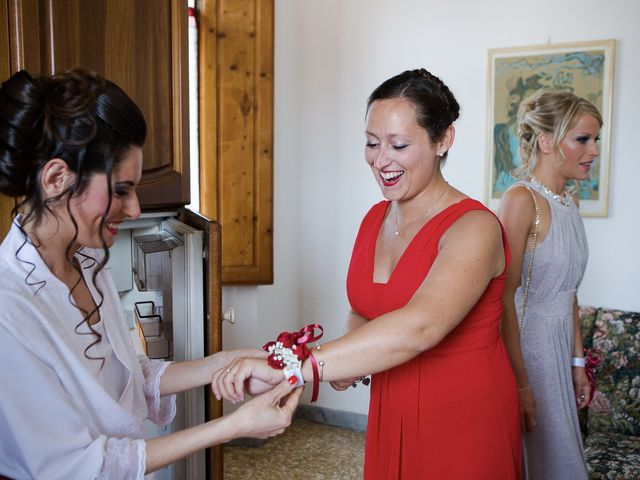 Il matrimonio di Veronica e Alessandro a Castellina in Chianti, Siena 11