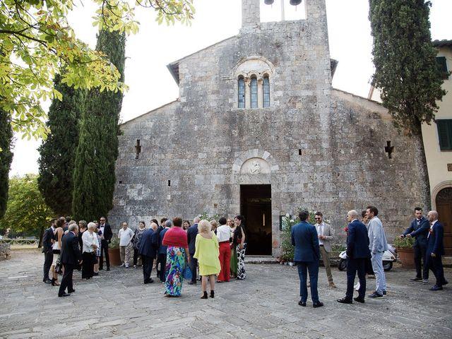 Il matrimonio di Veronica e Alessandro a Castellina in Chianti, Siena 18