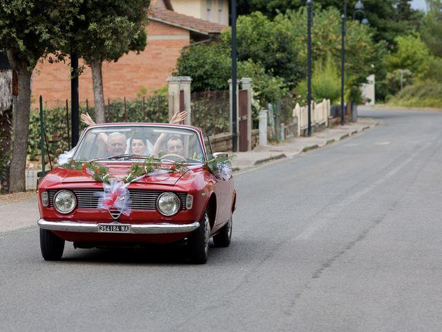 Il matrimonio di Veronica e Alessandro a Castellina in Chianti, Siena 19