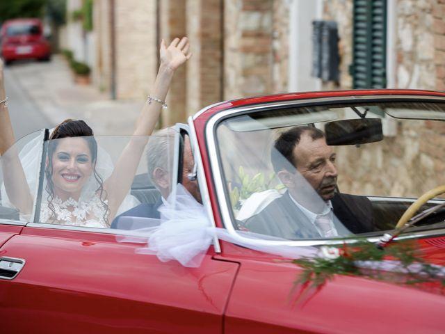 Il matrimonio di Veronica e Alessandro a Castellina in Chianti, Siena 20