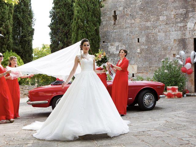 Il matrimonio di Veronica e Alessandro a Castellina in Chianti, Siena 21