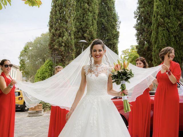 Il matrimonio di Veronica e Alessandro a Castellina in Chianti, Siena 22