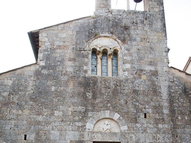 Il matrimonio di Veronica e Alessandro a Castellina in Chianti, Siena 23