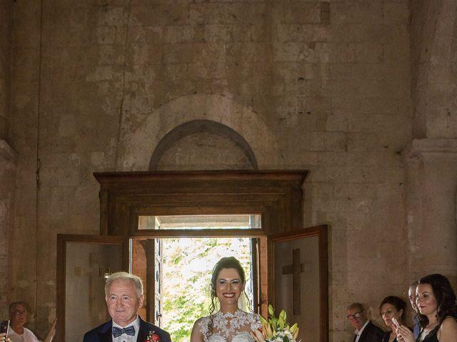 Il matrimonio di Veronica e Alessandro a Castellina in Chianti, Siena 24
