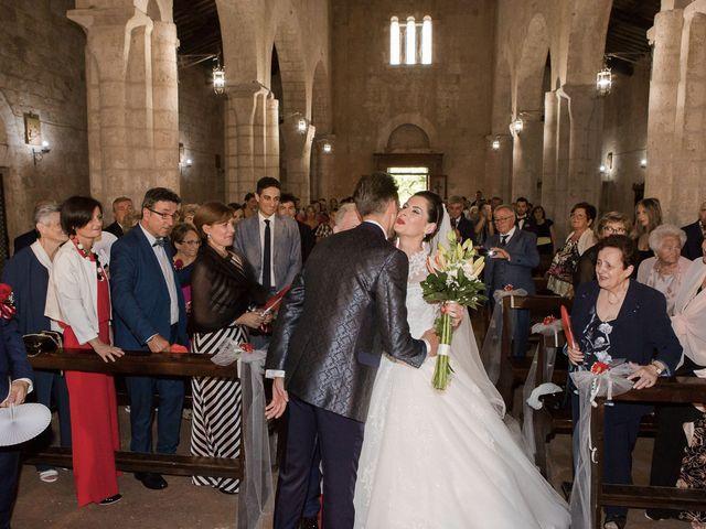 Il matrimonio di Veronica e Alessandro a Castellina in Chianti, Siena 25