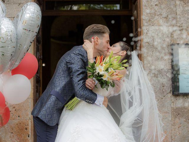 Il matrimonio di Veronica e Alessandro a Castellina in Chianti, Siena 30