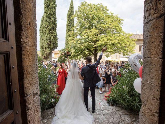 Il matrimonio di Veronica e Alessandro a Castellina in Chianti, Siena 31