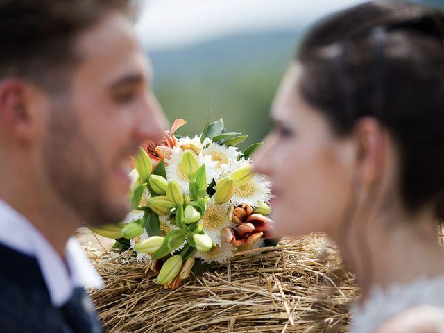 Il matrimonio di Veronica e Alessandro a Castellina in Chianti, Siena 33