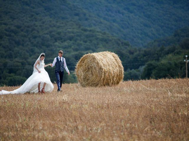 Il matrimonio di Veronica e Alessandro a Castellina in Chianti, Siena 34