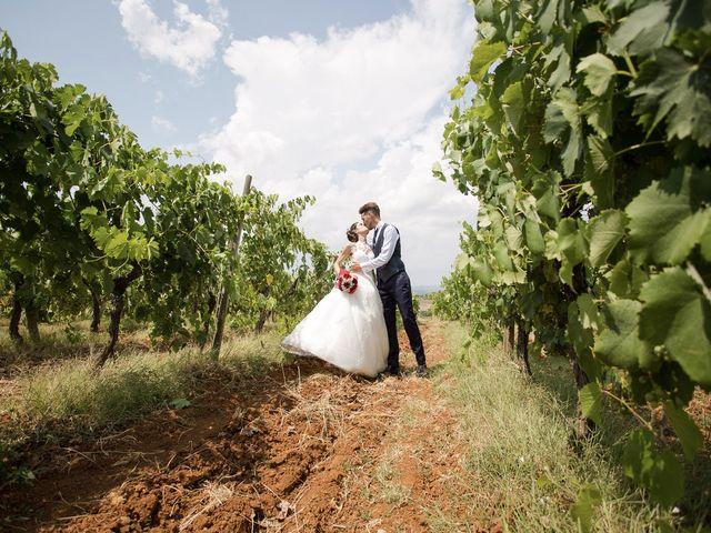 Il matrimonio di Veronica e Alessandro a Castellina in Chianti, Siena 35