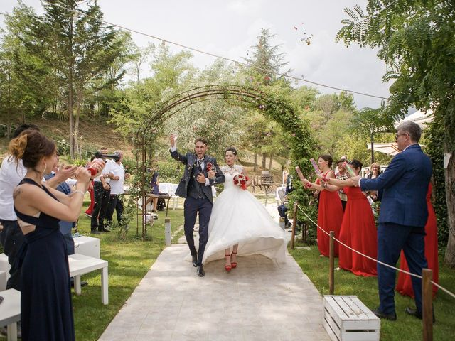 Il matrimonio di Veronica e Alessandro a Castellina in Chianti, Siena 41