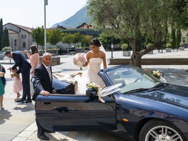 Il matrimonio di Emanuele e Vanessa a Calco, Lecco 20