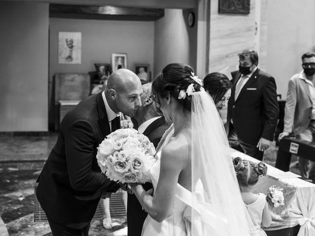 Il matrimonio di Emanuele e Vanessa a Calco, Lecco 22