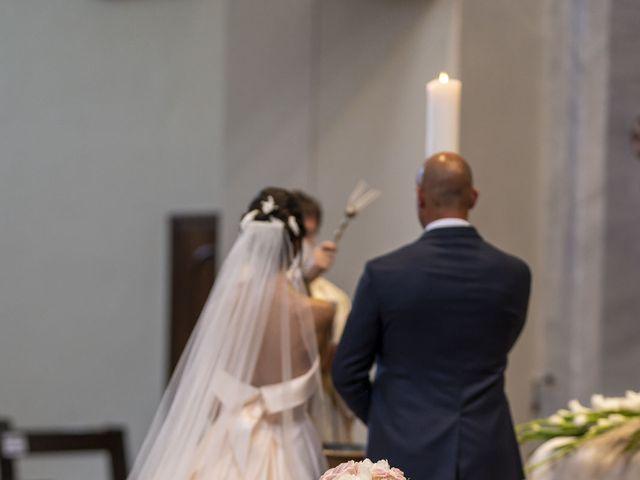Il matrimonio di Emanuele e Vanessa a Calco, Lecco 25