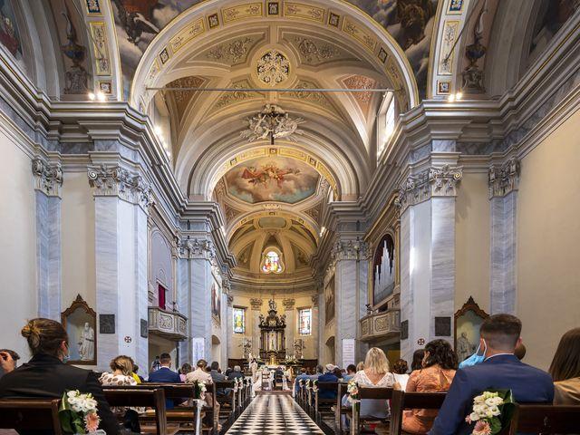 Il matrimonio di Emanuele e Vanessa a Calco, Lecco 26