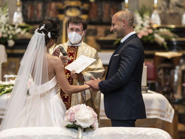 Il matrimonio di Emanuele e Vanessa a Calco, Lecco 27