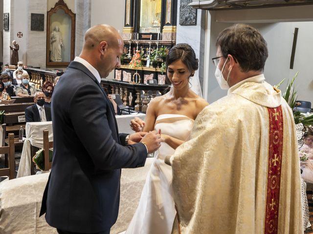 Il matrimonio di Emanuele e Vanessa a Calco, Lecco 29