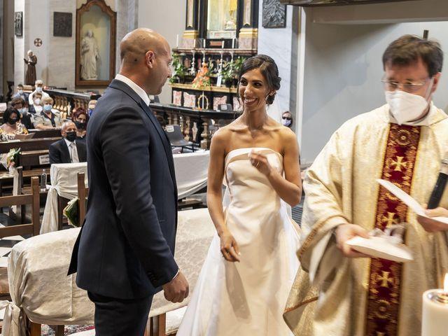 Il matrimonio di Emanuele e Vanessa a Calco, Lecco 30