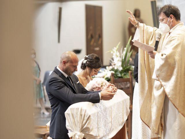 Il matrimonio di Emanuele e Vanessa a Calco, Lecco 31
