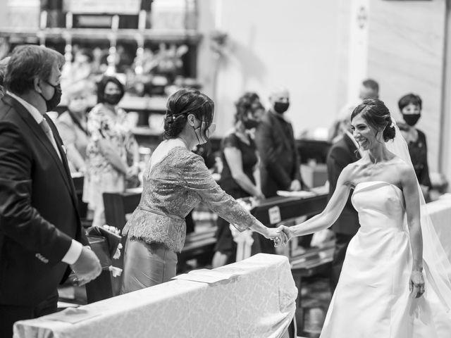 Il matrimonio di Emanuele e Vanessa a Calco, Lecco 32