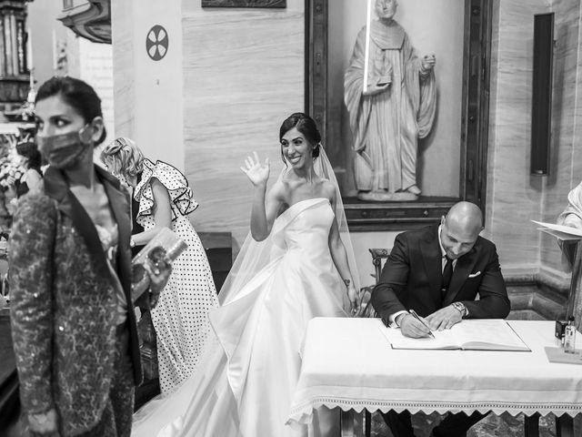 Il matrimonio di Emanuele e Vanessa a Calco, Lecco 33