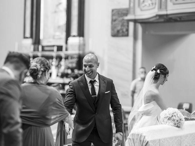 Il matrimonio di Emanuele e Vanessa a Calco, Lecco 34