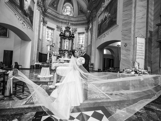Il matrimonio di Emanuele e Vanessa a Calco, Lecco 36