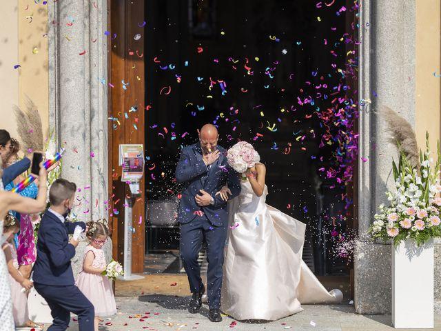 Il matrimonio di Emanuele e Vanessa a Calco, Lecco 37