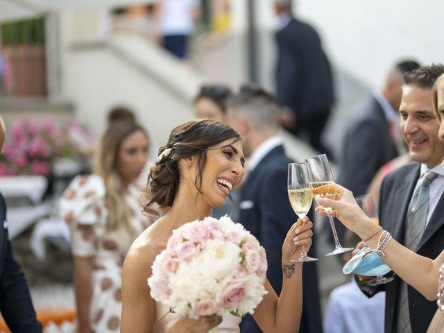 Il matrimonio di Emanuele e Vanessa a Calco, Lecco 41