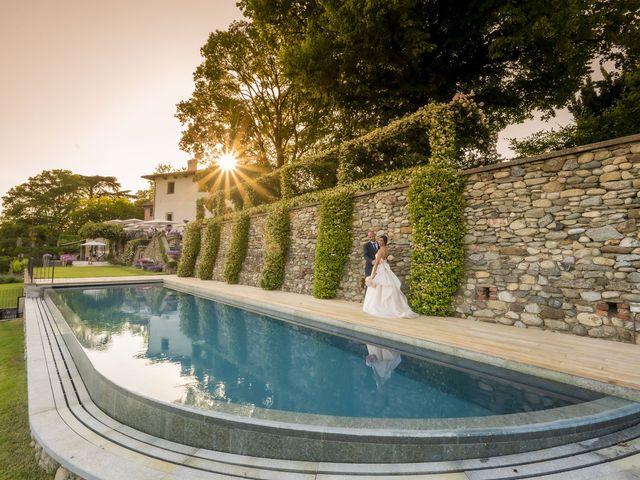 Il matrimonio di Emanuele e Vanessa a Calco, Lecco 50