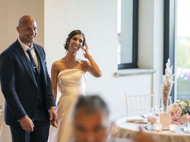 Il matrimonio di Emanuele e Vanessa a Calco, Lecco 65