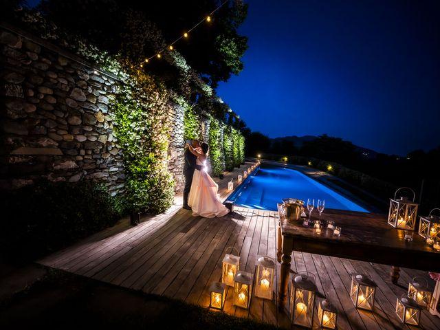Il matrimonio di Emanuele e Vanessa a Calco, Lecco 74