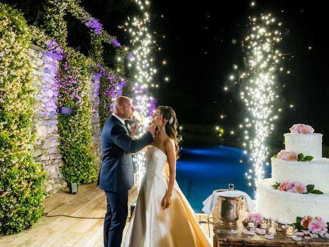 Il matrimonio di Emanuele e Vanessa a Calco, Lecco 84