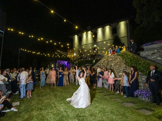 Il matrimonio di Emanuele e Vanessa a Calco, Lecco 86