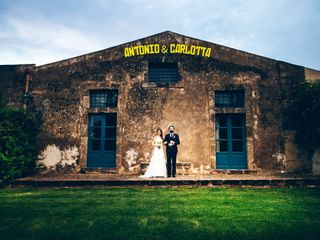 Le nozze di Carlotta e Antonio