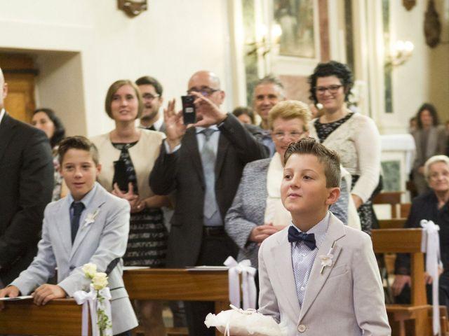 Il matrimonio di Francesco e Angela a Puos d'Alpago, Belluno 25