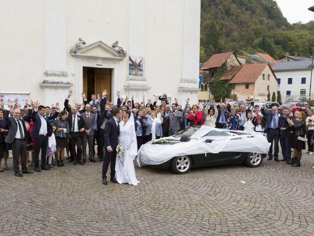 Il matrimonio di Francesco e Angela a Puos d'Alpago, Belluno 35